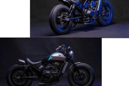 French custom house FCR Original x Honda Motor unveil custom motorcycles