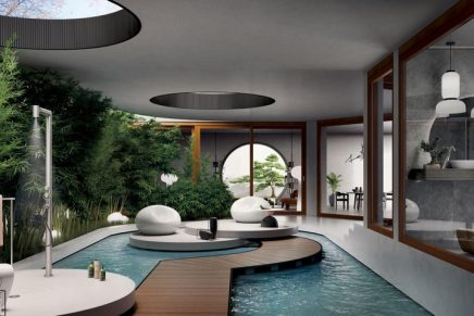 From outdoor wellness systems to real personal spas: Eight multisensorial wellness novelties