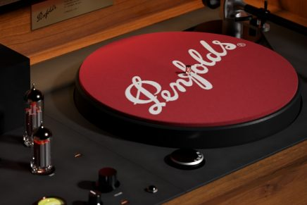 Music, like wine, takes us to another place: Penfolds unveils record player with secret drawer