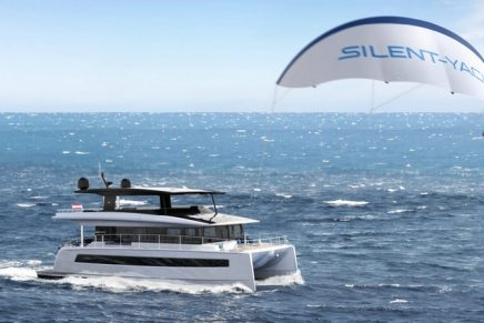 Three major advantages of the kite wing for the yacht