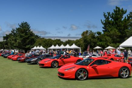 Concorso Italiano returns for the famous Monterey Car Week