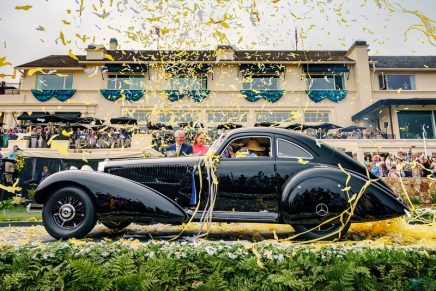Best of Show at the 70th Pebble Beach Concours d'Elegance