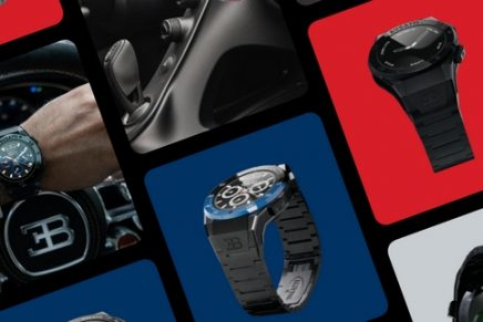 World's Most Luxurious Smartwatch Mirrors The Technology of The Bugatti Hyper Sports Cars