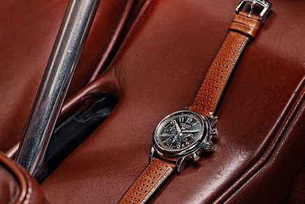 Mille Miglia Classic Chronograph Raticosa is for gentlemen drivers who value vintage aesthetics