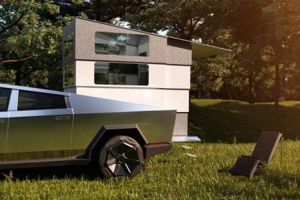 This tuned Cybertruck lets you make your home any place your wheels and imagination can take you
