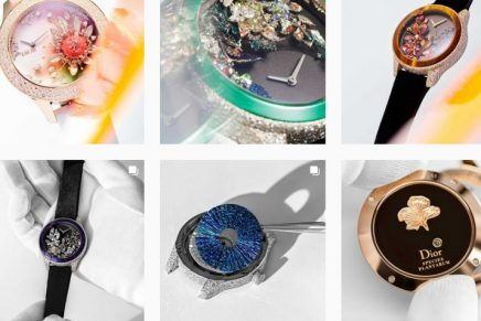 A glimpse of some of the almost impossibly precise savoir-faire required for new Dior Grand Soir Watches
