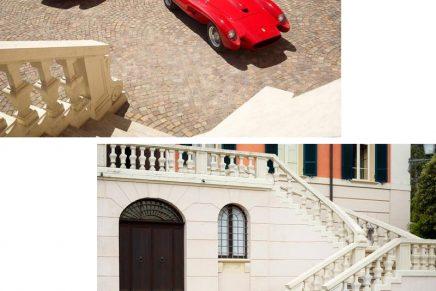 This piccola Ferrari Testa Rossa J is a 75% scale electric replica of the renowned classic