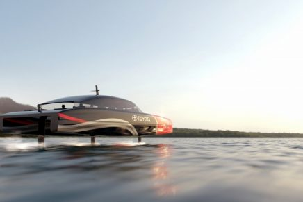 Meet The Hydrogen Powered Chase Boats For the 37th America's Cup