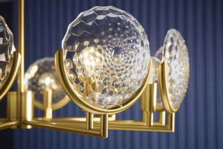 Lighting exploring the artistic depths of 20th century design