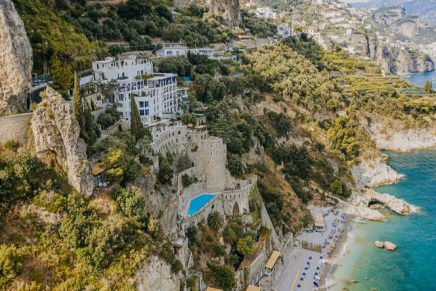 The first new luxury hotel to open on the Amalfi Coast in 15 years is a stunning cliffside property