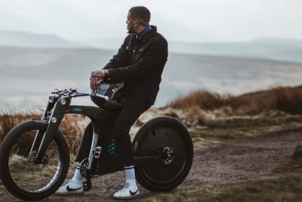 This new electric bicycle gives riders a royally good cruising experience