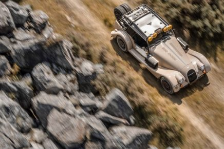 Off-road Plus Four CX-T: This is Morgan like you've never seen it before