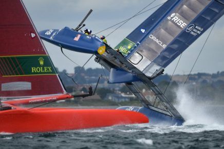 Strategy, foils, insane speed and near collisions at SailGP: The winner takes home $1 million