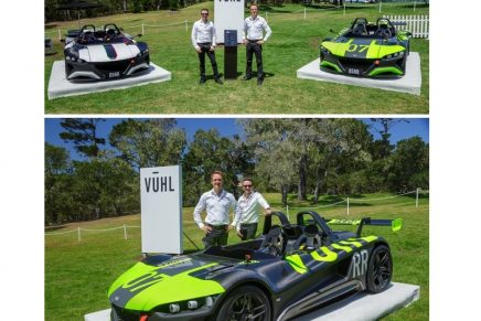 Lightest, most powerful Vuhl – 05RR – breaks cover in California at Pebble Beach Concours d'Elegance