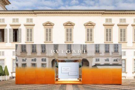 Milan Design Week 2021: Bvlgari recalling a Metamorphosis