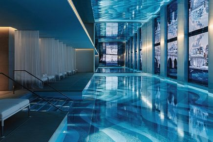 Spa Cheval Blanc Paris reveals a luxury immersion into Dior's happiness shots
