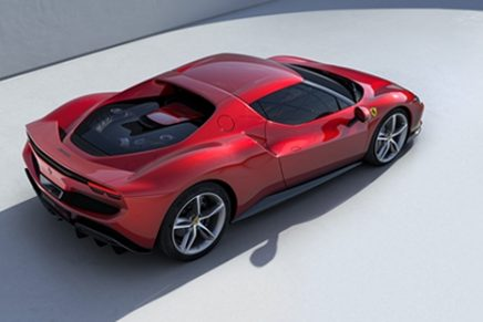 Jony Ive and Marc Newson's design studio LoveFrom teaming up with Ferrari