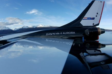 Mk-II Aurora reusable rocket ship to be the first spaceplane to access space multiple times per day