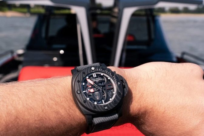 Panerai and Brabus expand reach in the worlds of watchmaking and boating