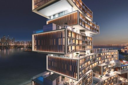 This top-floor penthouse is the most expensive luxury penthouse currently in Dubai