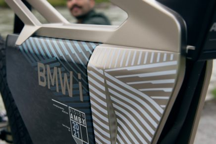 BMW Motorrad Vision I AMBY – A completely new concept between bicycle and motorbike
