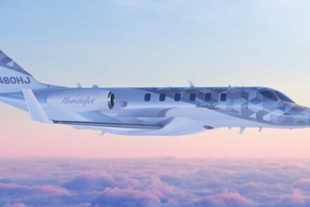 A look at the world's first light jet capable of nonstop transcontinental flight across the United States