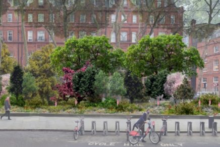 Sustainable city initiatives: Louis Vuitton, Cadogan, and Sugi create Central London's first 'Heritage Forest