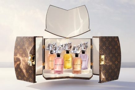 Louis Vuitton x Frank Gehry reinvent the Extrait de Parfum, the purest and most precious form in perfumery