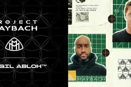 automotive-fashion-design crossovers: Virgil Abloh to create an electric show car for Mercedes-Maybach