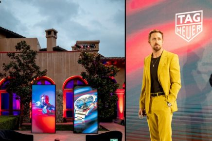 Ryan Gosling has become a TAG Heuer ambassador, his first-ever brand partnership
