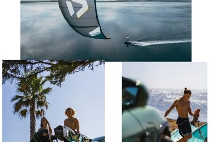 Kitesurfing sport is a perfect fit for Porsche