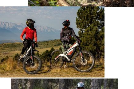 The Super E-Bike Combines An Off-Road Motorcycle With The Sporting Experience Of A Bike