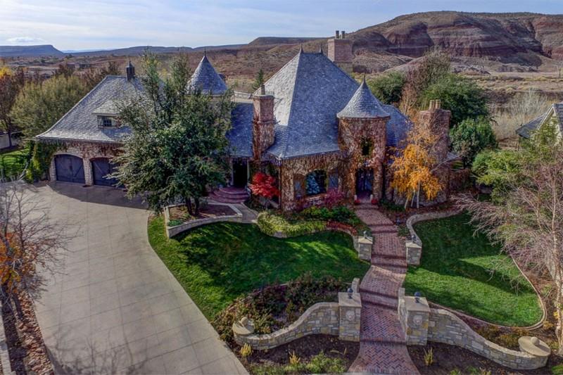 250 Le Grande Circle, Santa Clara, Utah - Photo Gallery- Aerial View 1