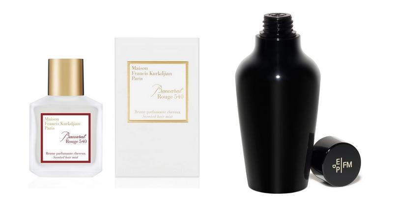 3 - Maison Francis Kurkdjian Baccarat Rouge 540 Hair Mist x Frederic Malle Carnal Flower Hair & Body Oil