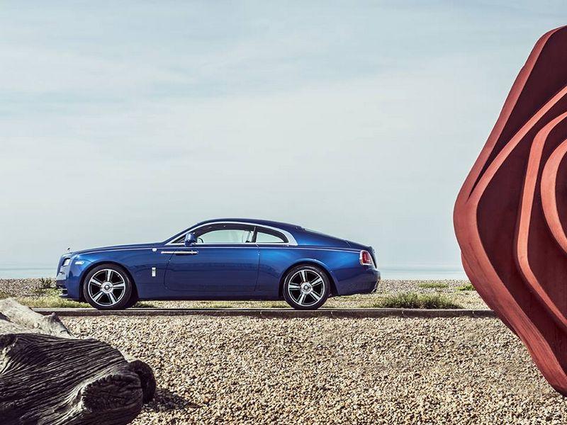 3 Rolls Royce emerald embellished Dawn and Wraith inspired by Porto Cervo