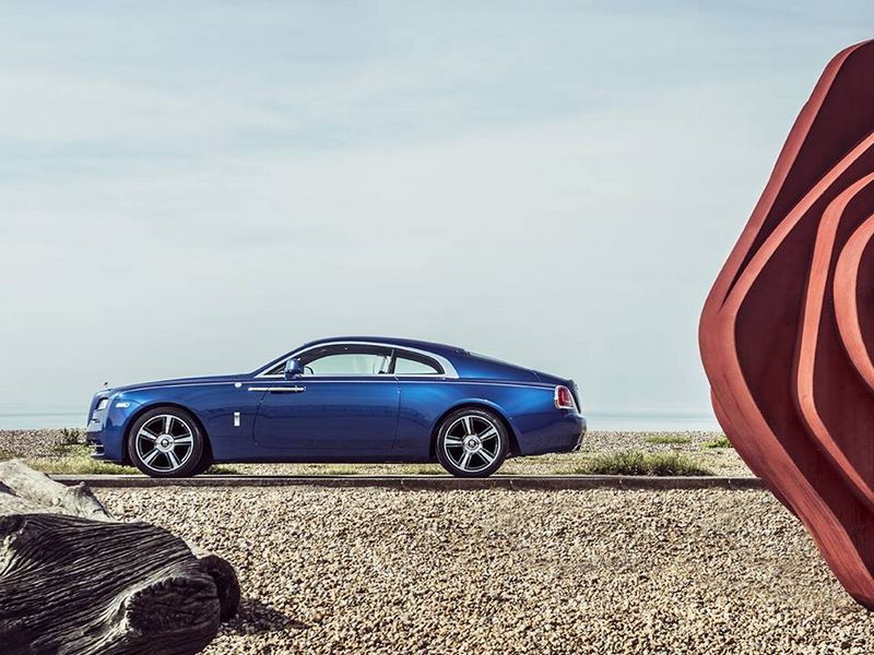 3 Rolls Royce emerald embellished Dawn and Wraith inspired by Porto Cervo