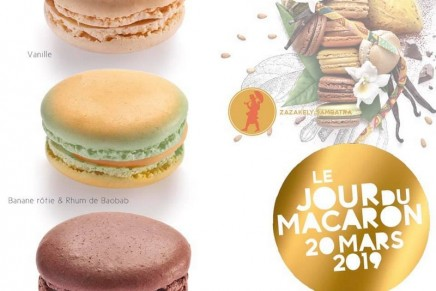 Jour de Macaron 2019/Macaroon's Day: Hurrah for spring and delicacies