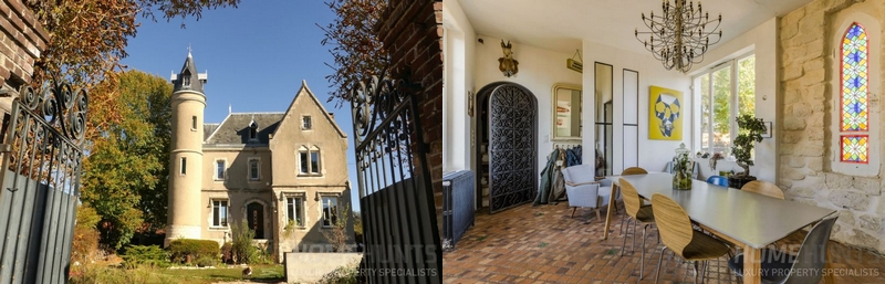 4 BEDROOM CHÂTEAU - ESTATE IN NEUILLY PLAISANCE-