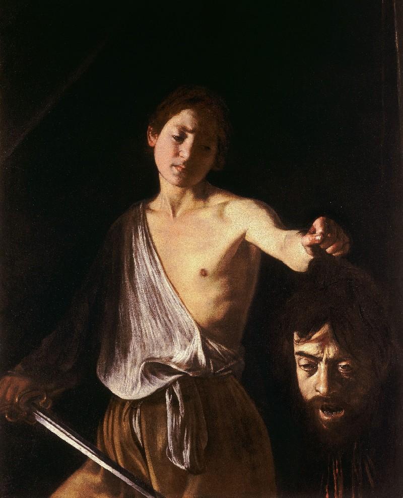 4.Caravaggio-Davide con testa Golia