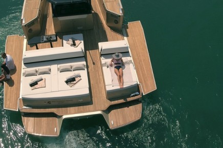 40 Open Sunreef Power – a radical multihull speedster with limitless options for customization
