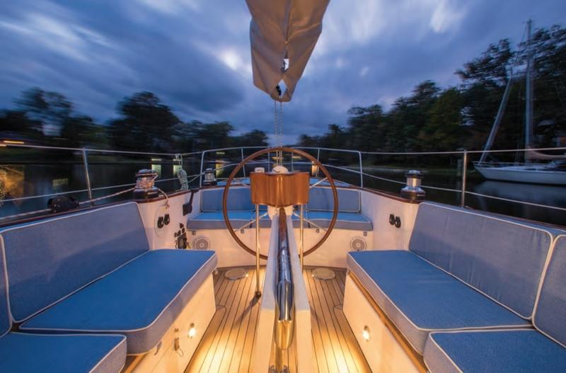 43'Winsome - Custom Sailboat by Rivolta Yachts.-