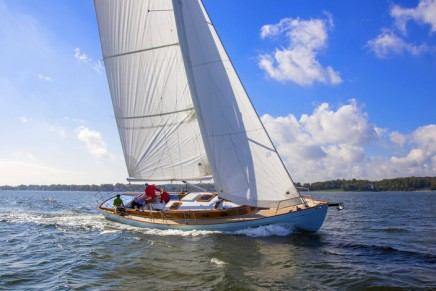 If you want to control your destiny, Piero Rivolta's 43′ Winsome is the custom sailboat for you