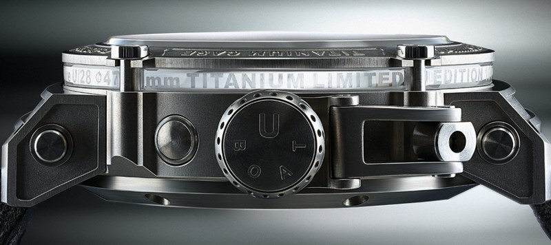 47 U-1001 TIT is a watch that pays tribute to one of the Italo Fontana's passions, diving