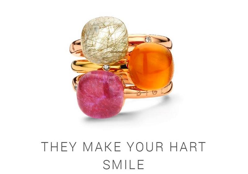 49 Colours of Bigli Mini Sweety - rings