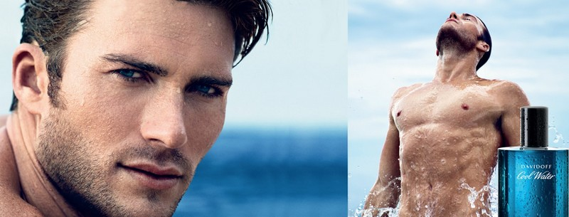 5 of the best designer aftershaves for spring - DAVIDOFF Cool Water ad campaign Scott Eastwood