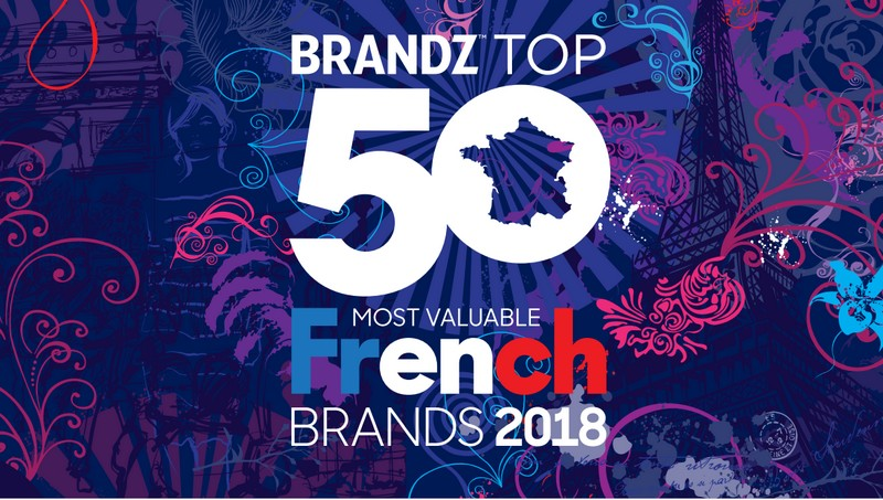 50 top french brands by brandz