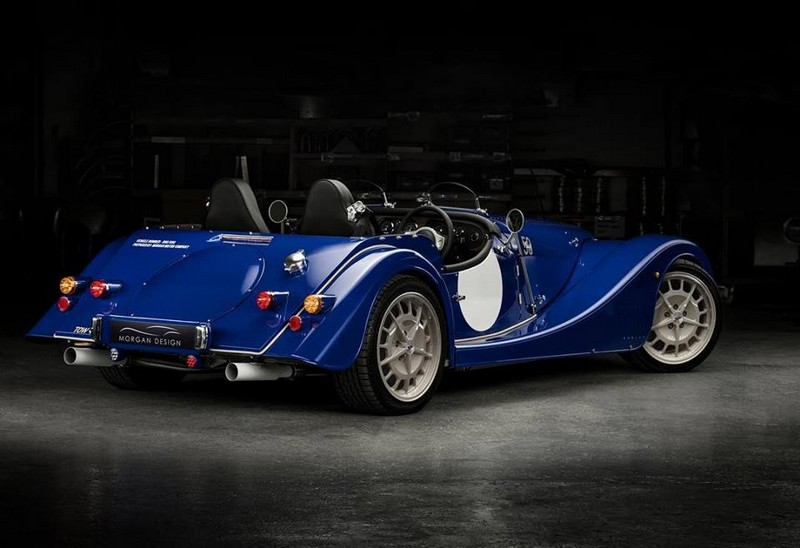 50. The Plus 8 50th Anniversary Edition will be the last Morgan sports car to feature the naturally aspirated V8 engine