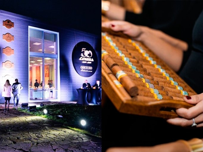 50AnniversaryCohiba celebration in Moscow