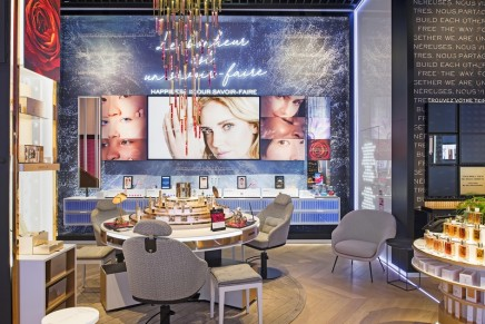 The Joy Of Now: 52 Avenue des Champs-Elysées is the home of the world's leading luxury beauty brand