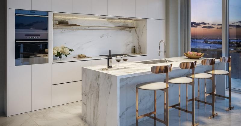 57 Ocean Residences - residence kitchen